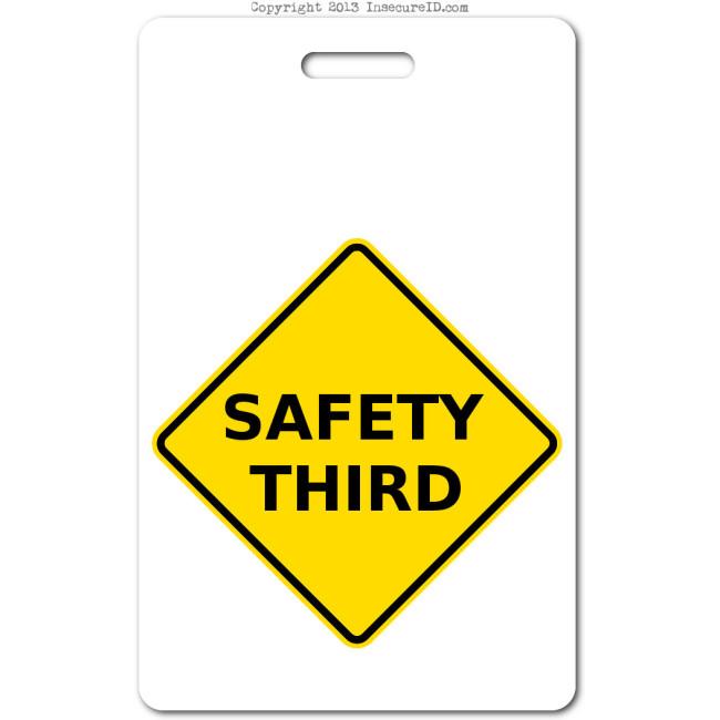 018 safety third ID badge