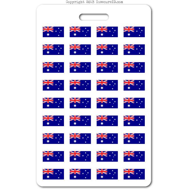 101 Australia ID badge