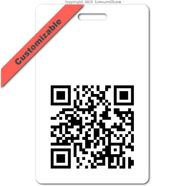 014 custom QRcode ID badge_banner
