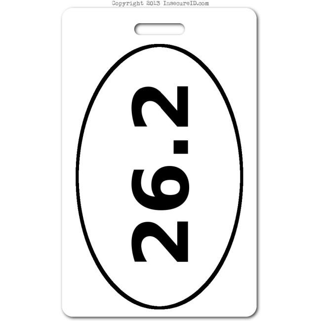 022 marathon ID badge